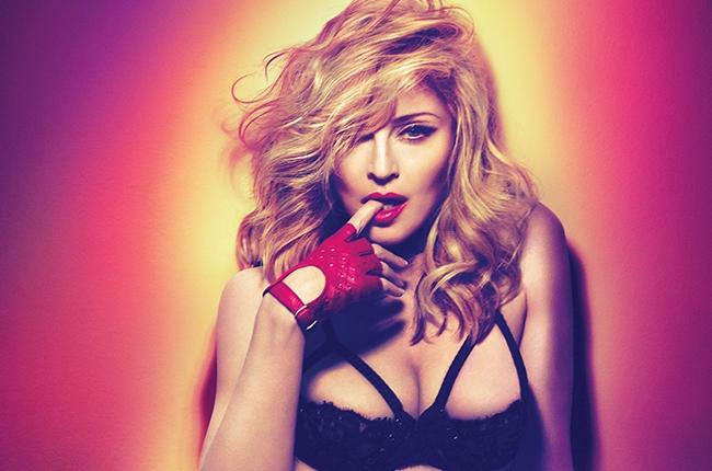 Madonna pop star Blond ambition