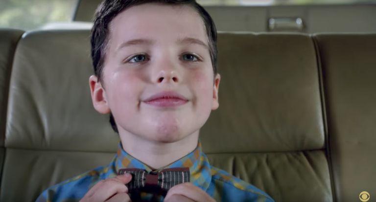 Young Sheldon Cooper