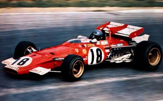 Ferrari 312B ritorno pista cinema