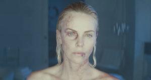 Charlize Theron Atomic Blonde danni fisici