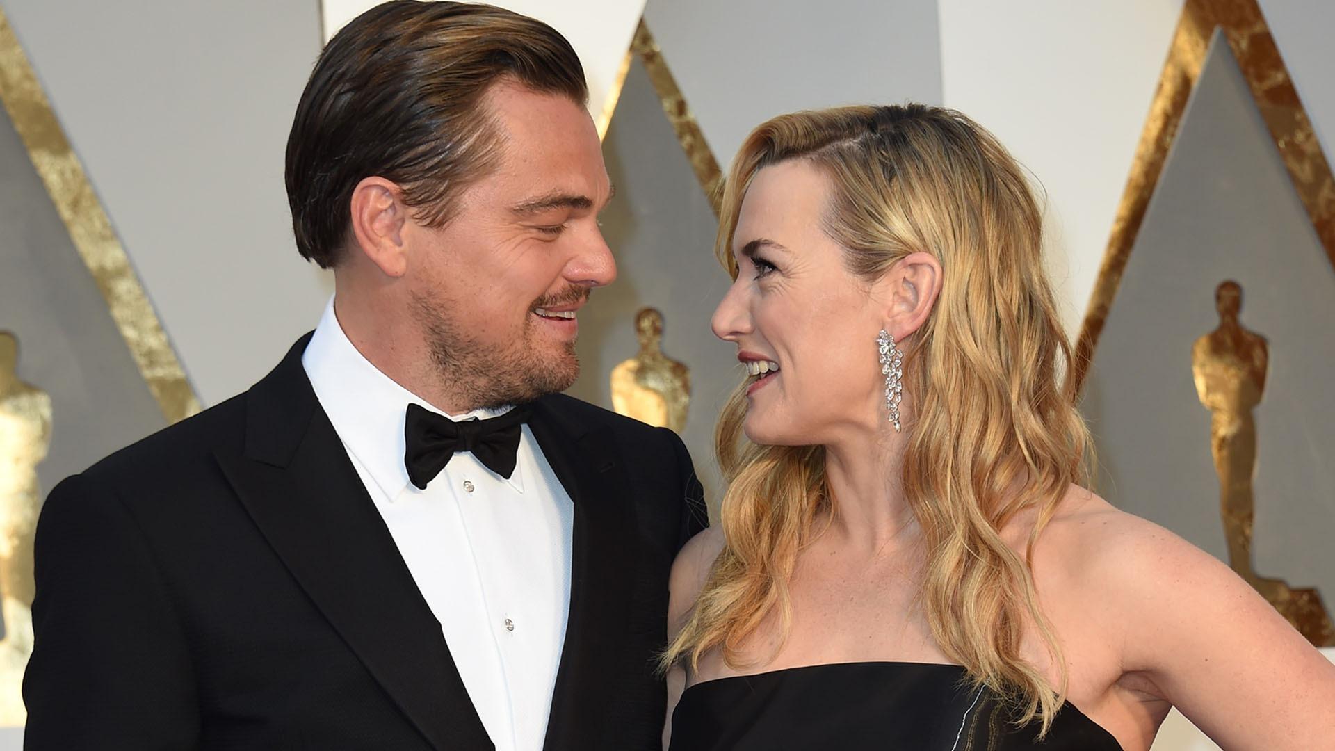 DiCaprio Winslet Saint Tropez foto