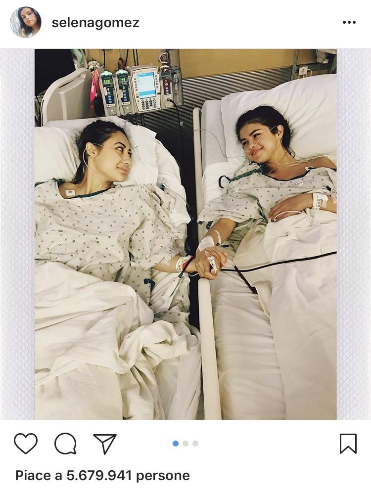 Selena Gomez Lupus Intervento Rene