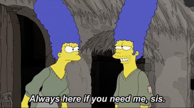 Game Of Thrones Simpson