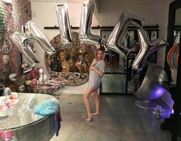 Miley Cyrus mamma