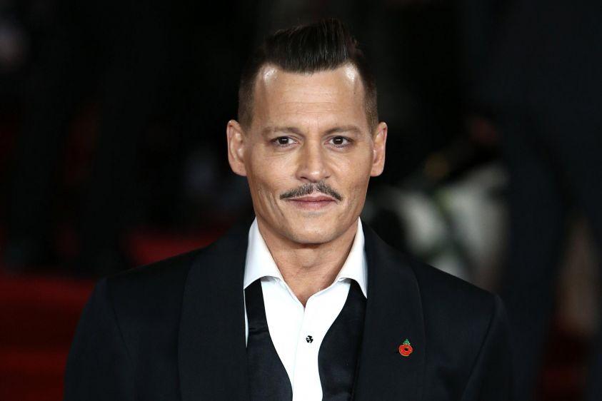 Johnny Depp ubriaco