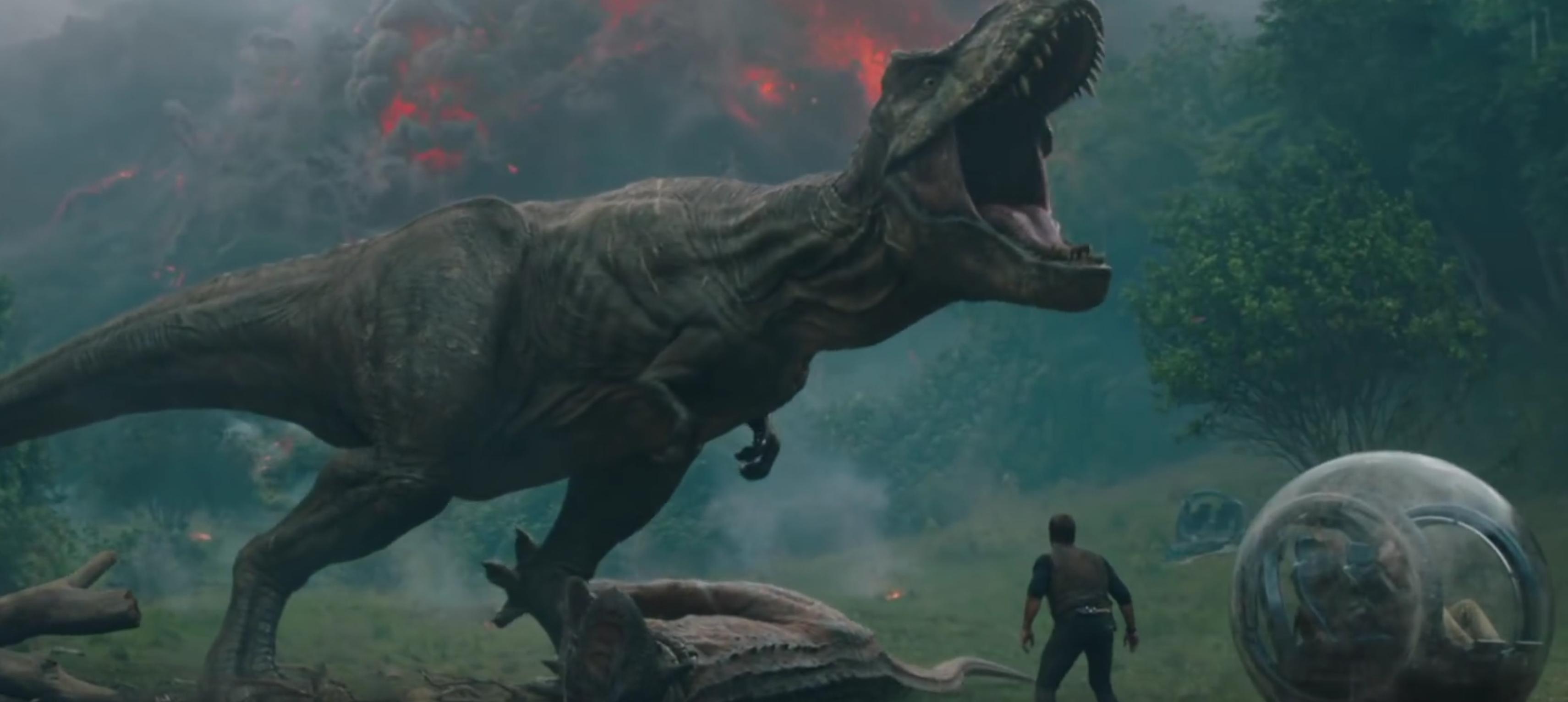 Jurassic World sequel trailer