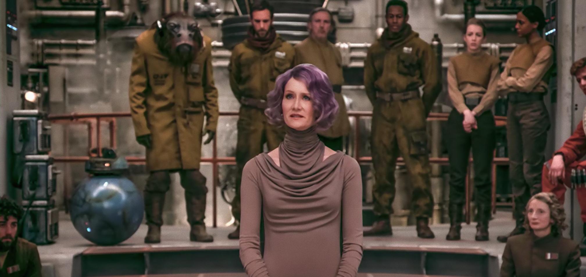 Star Wars Holdo Poe