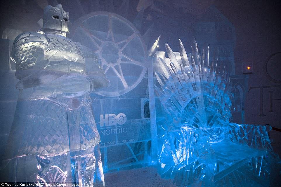 trono ghiaccio