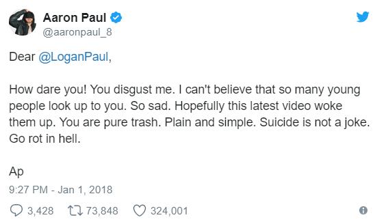 Logan Paul video scandalo