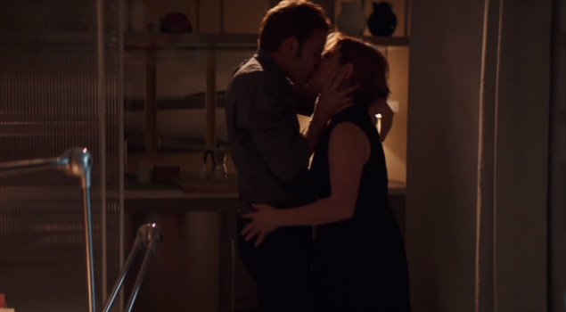 Bacio protagonisti