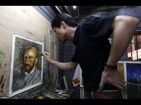 Zhao dipinge