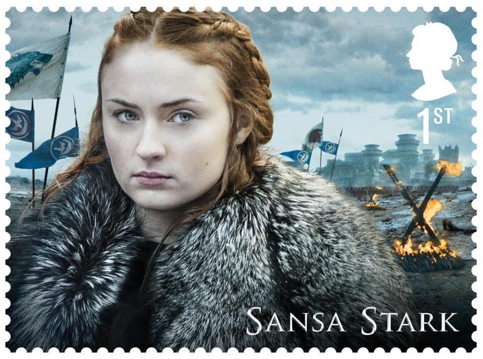 Trono di Spade francobolli