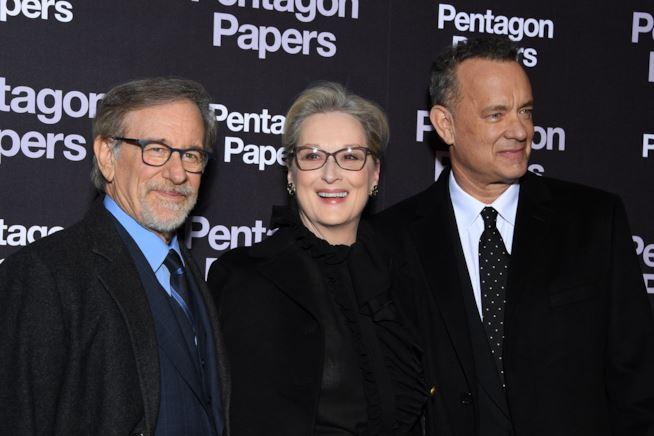 Spielberg Streep Hanks