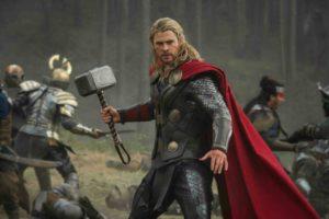 Chris Hemsworth Thor addio