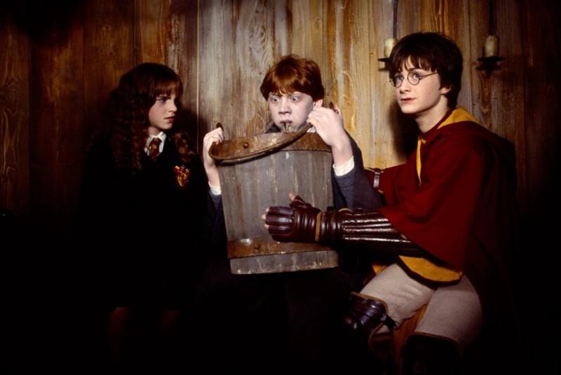 Ron mangia lumache