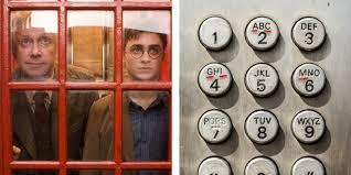 Harry Potter cabina telefonica