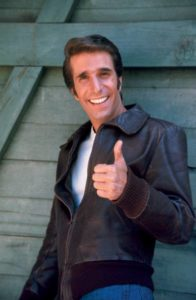 Fonzie Happy Days oggi