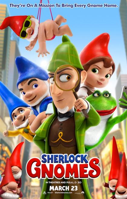 sherlock gnomes locandina
