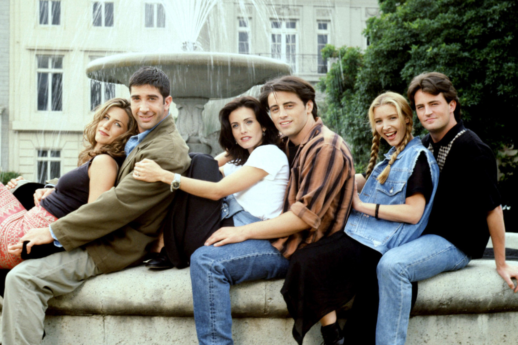 cast completo friends
