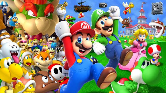 Super Mario animazione