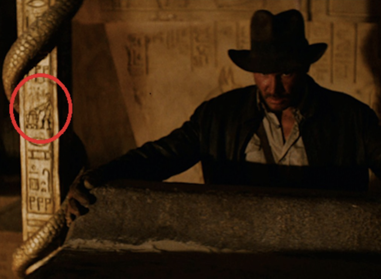 indiana jones messaggi subliminali