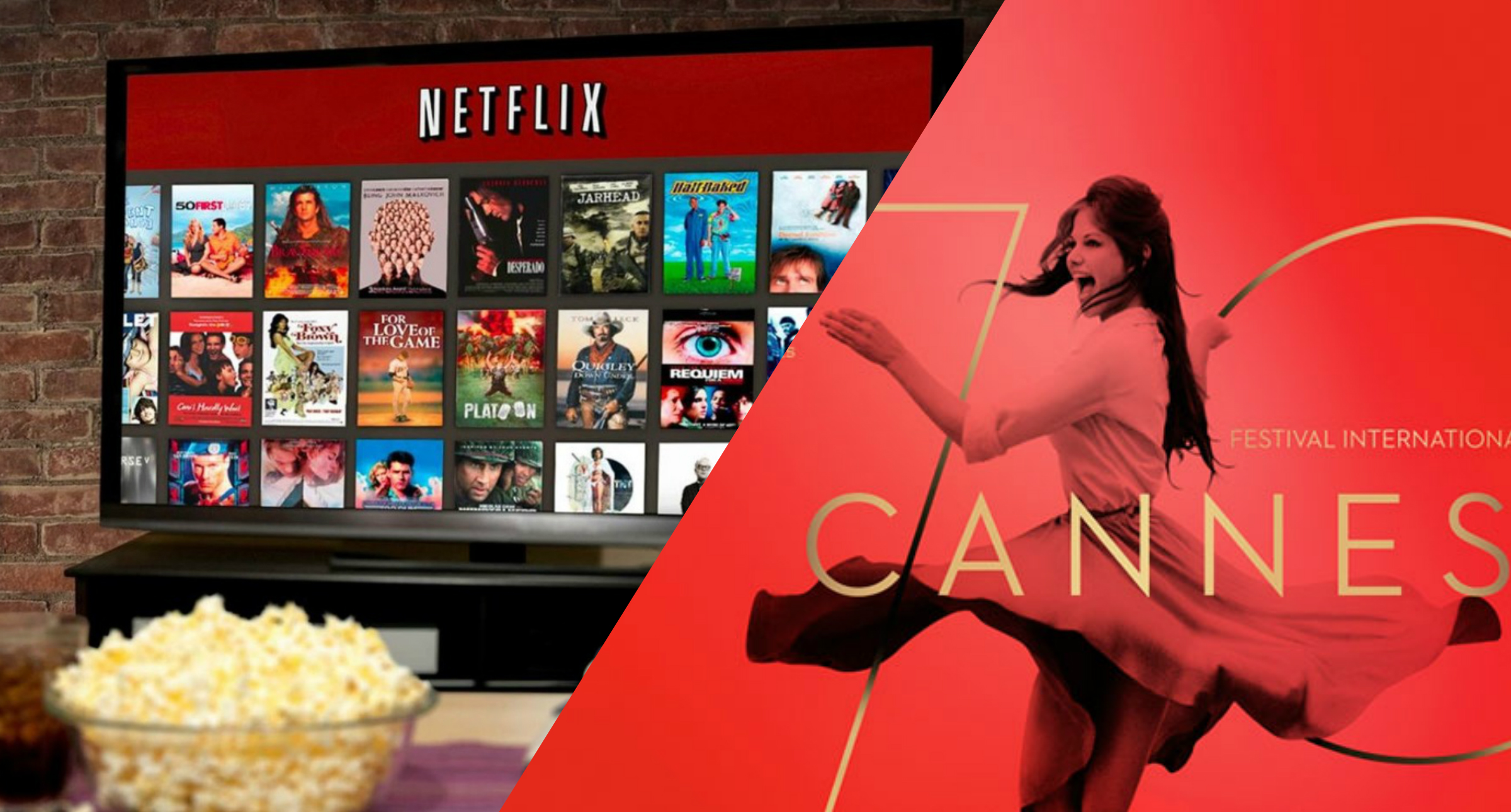Cannes Netflix lite