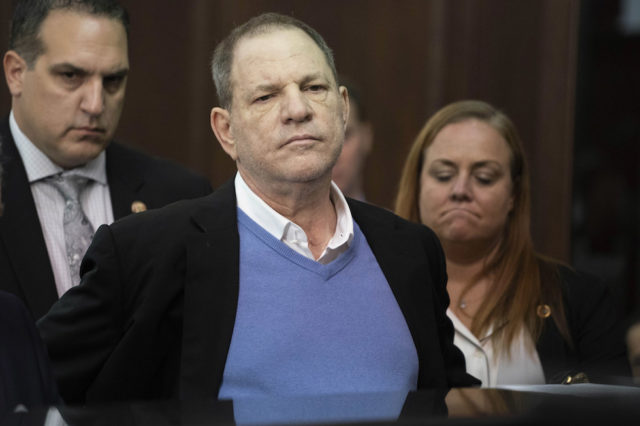 Harvey Weinstein arrestato