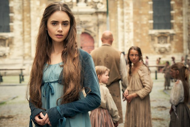 lily collins fantine
