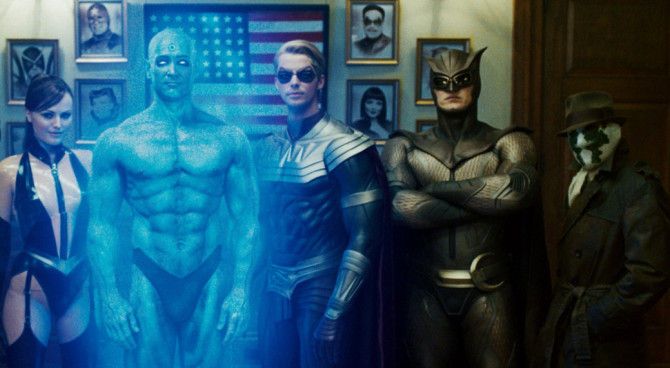 watchmen serie tv streaming