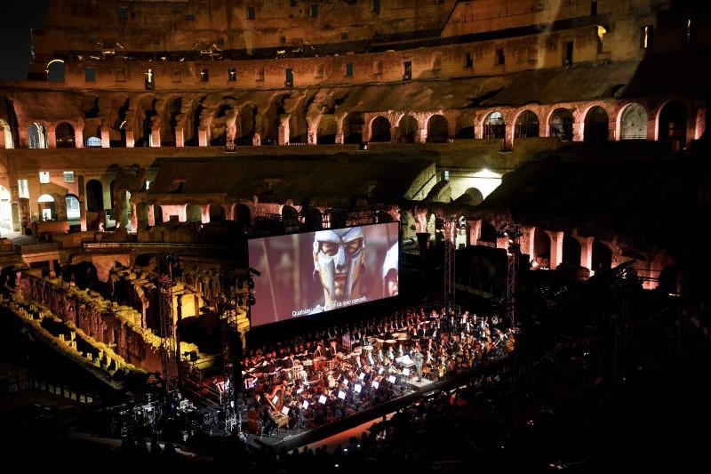 Orchestra Italiana Cinema gladiatore