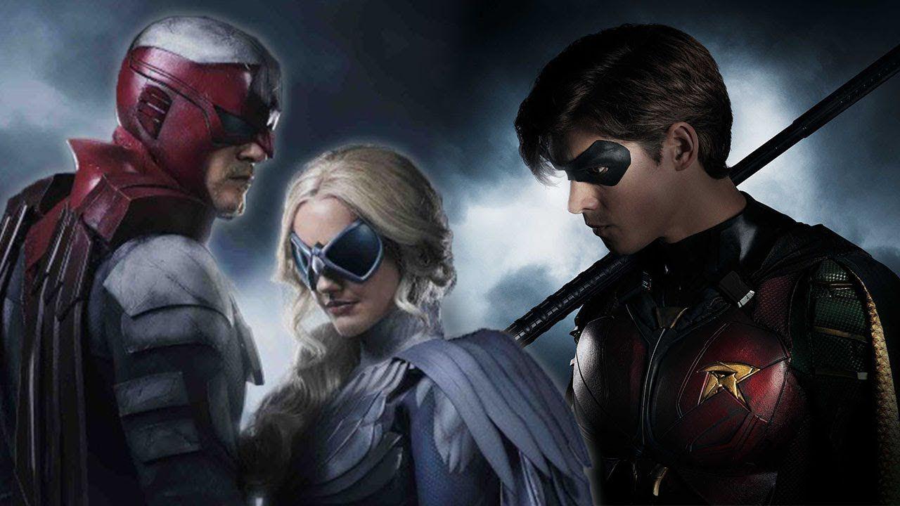 titans cast