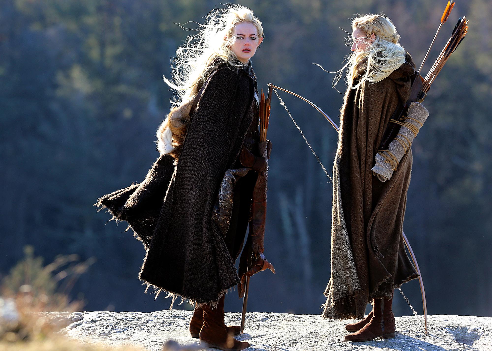 Emma e Julia Garner