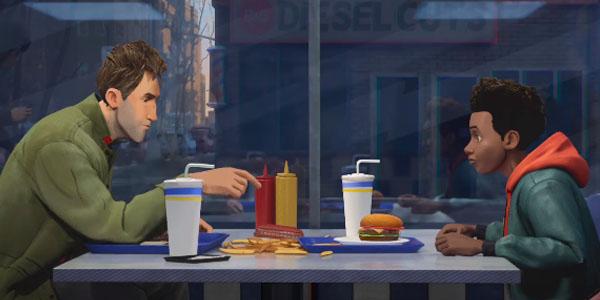 Miles Morales e Peter Parker