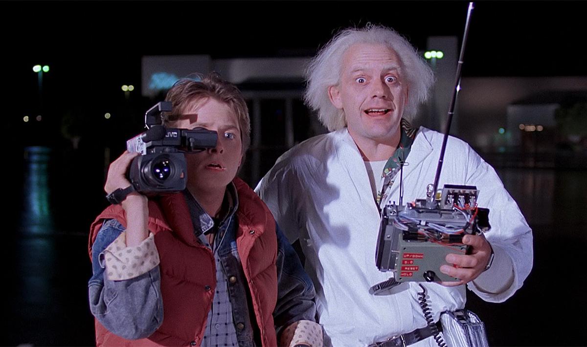 Ritorno al futuro Marty e Doc