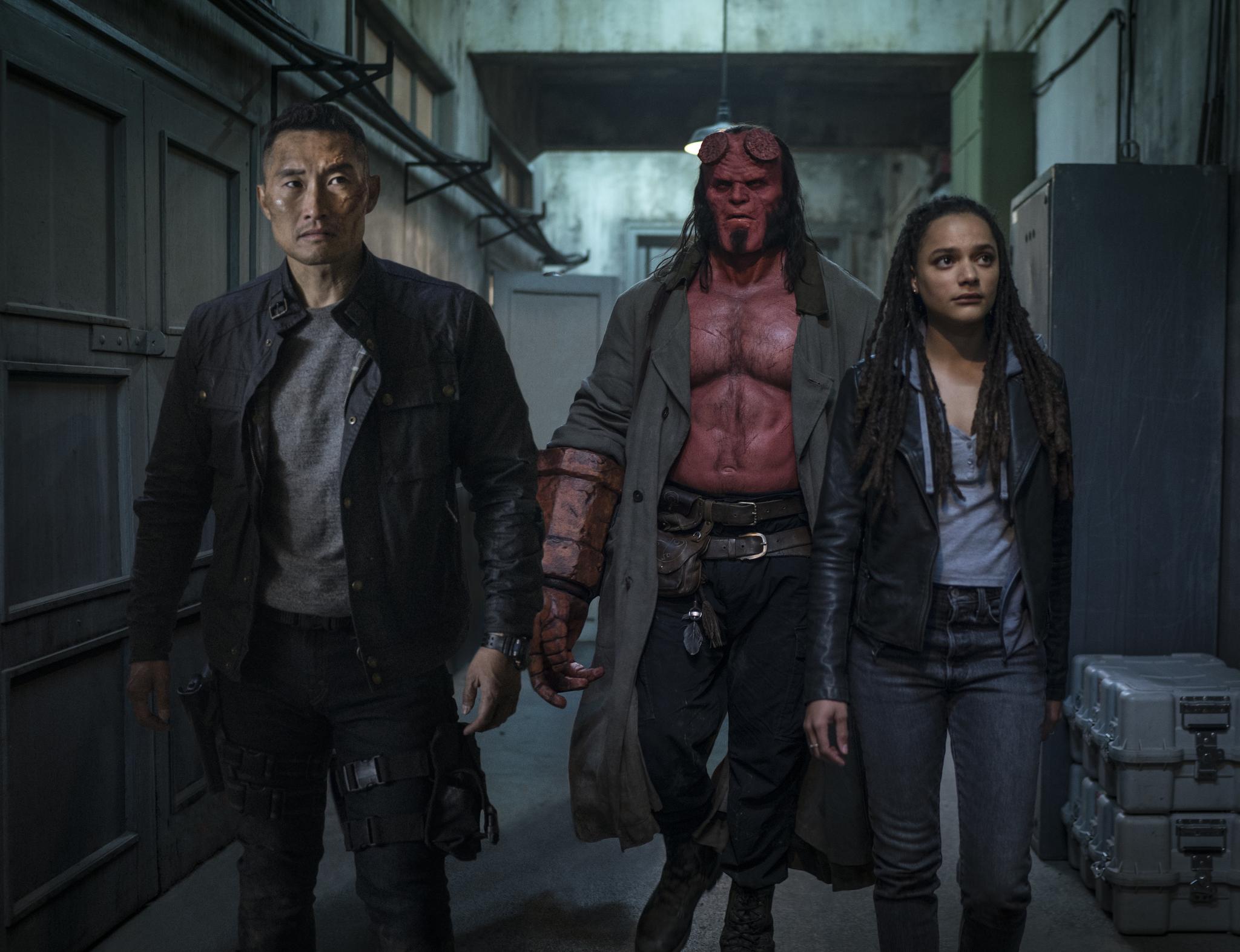 Hellboy 2019 team