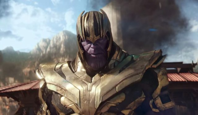 Thanos nuovo look