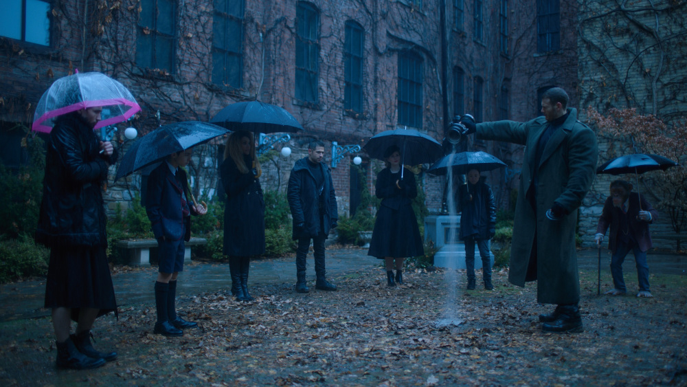 the umbrella academy fumetto