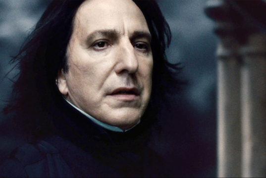 Severus Piton morte