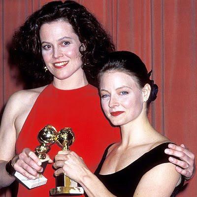 Sigourney Weaver e Jodie Foster