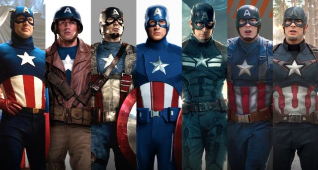 Captain America nuova divisa