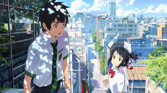 Your Name protagonisti occidentali