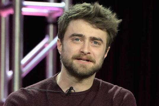 Daniel Radcliffe ubriaco