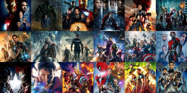 maratona film marvel
