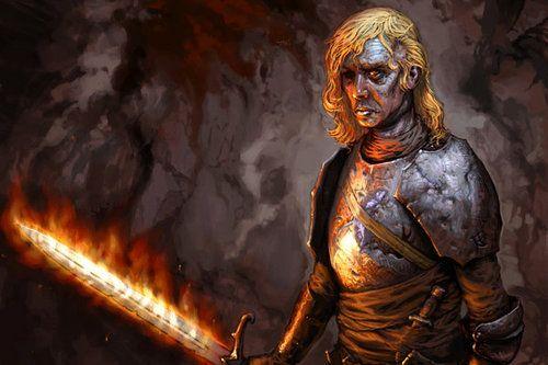 Sam eroe Trono spade