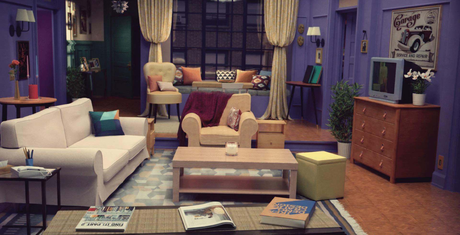 serie tv ricreare set