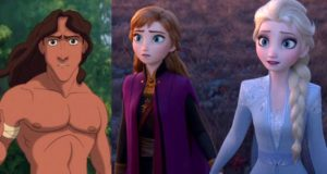 Tarzan fratello Elsa Anna