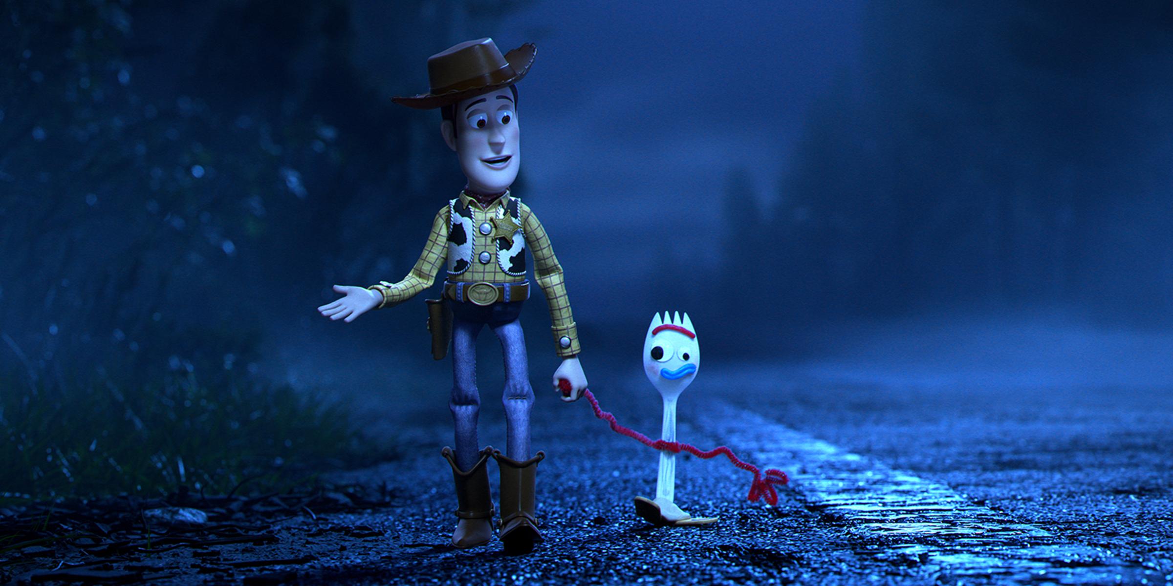 Toy Story 4 abbraccio