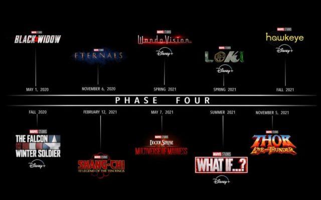 Comic Con annunci Fase 4