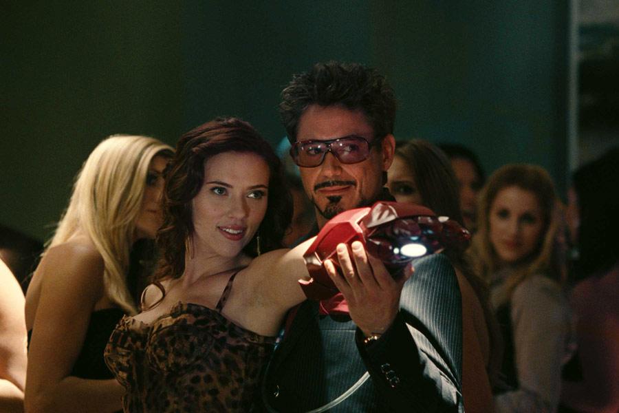 Vedova Nera Iron Man