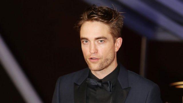 Pattinson costume Batman